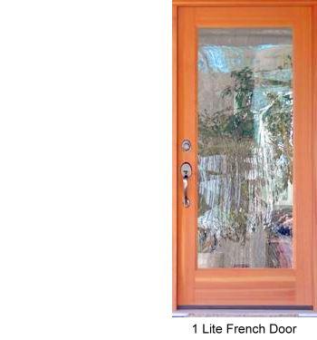 Exterior doors soild wood doors custom door design for 1 lite french door