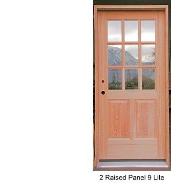 Exterior doors soild wood doors custom door design for 9 lite wood exterior door