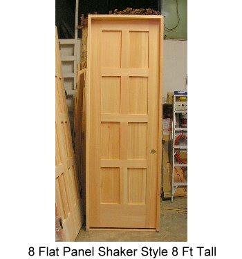 Interior door custom door design wood interior door - 8 foot tall interior french doors ...