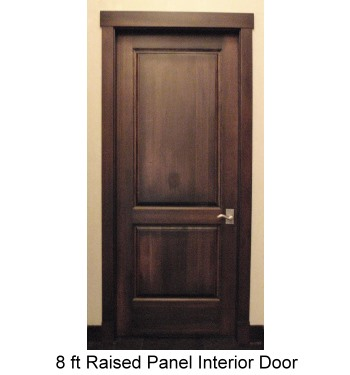 Interior door custom door design wood interior door for 8ft french doors